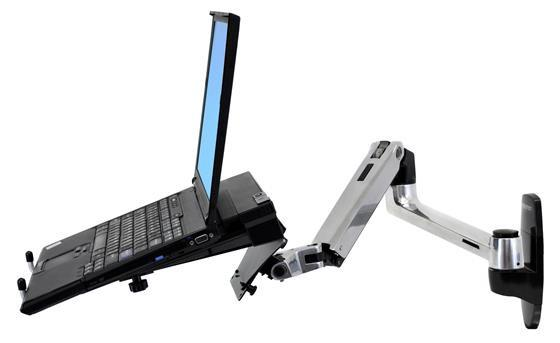 Ergotron LX Wall Mount LCD Monitor Arm - Stretch Desks - Height Adjustable Standing Desk