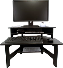 High Rise Stand Up Desk Converter - bringown
