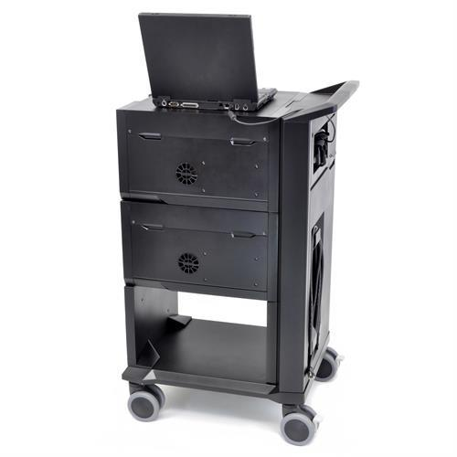 Ergotron Tablet Management Cart 32 for Samsung - Stretch Desks - Height Adjustable Standing Desk