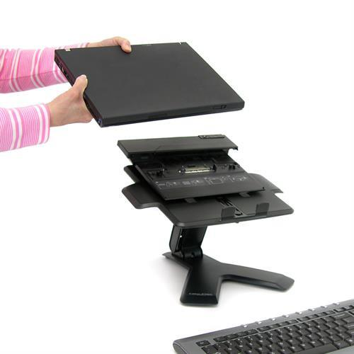 Ergotron Neo-Flex® Notebook Lift Stand - Stretch Desks - Height Adjustable Standing Desk