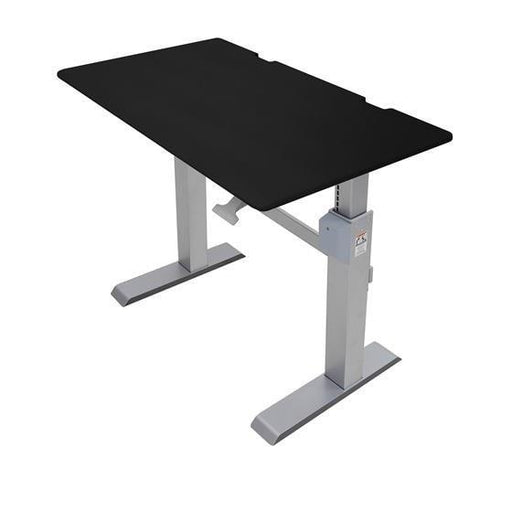 Ergotron WorkFit-DL 48, Sit-Stand Desk - Stretch Desks - Height Adjustable Standing Desk