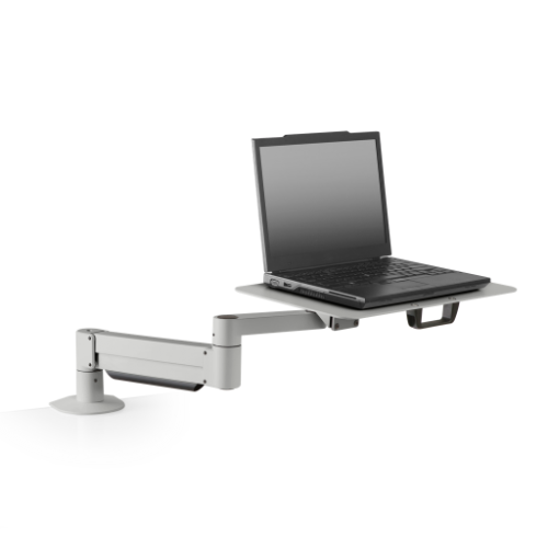 Innovative 7011-8252 – Height Adjustable Laptop Stand with Oversize Notebook Tray - Stretch Desks - Height Adjustable Standing Desk
