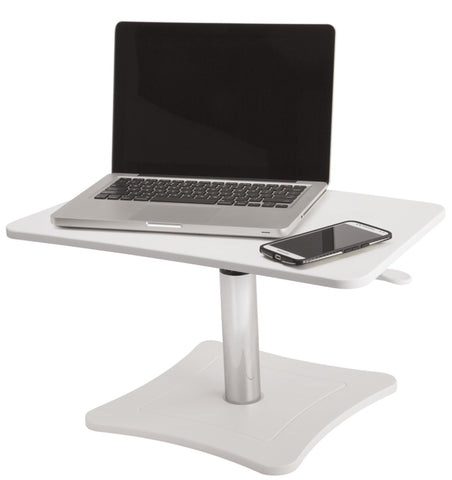 High Rise Height Adjustable Laptop Stand (Black or White) - bringown