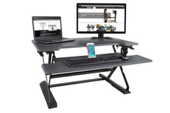 High Rise Height Adjustable Sit-Stand Workstation - bringown