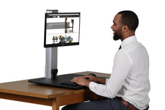 High Rise Electric Sit Stand Desk Converter