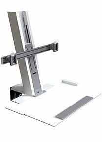 Humanscale Quickstand Heavy Mount with Large Platform and Crossbar - bringown