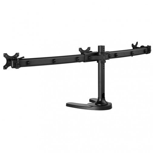 Atdec Spacedec SD-FS-T Desk Triple Monitor Mount - Stretch Desks - Height Adjustable Standing Desk