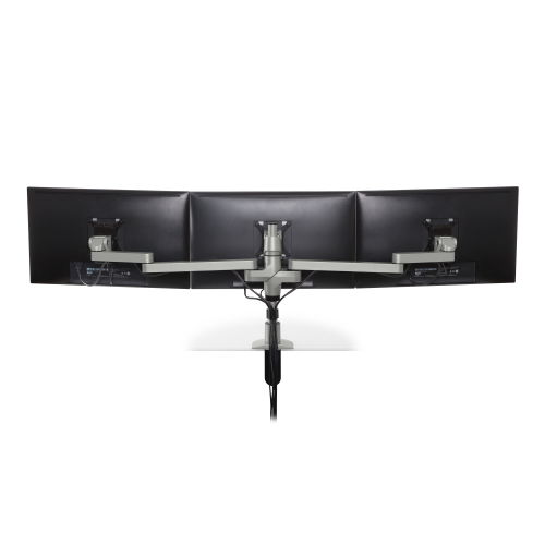 Innovative STX-03S – Staxx Triple Monitor Mount – Standard - Stretch Desks - Height Adjustable Standing Desk