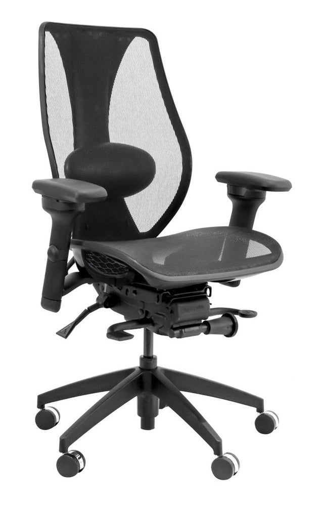 tCentric Hybrid All Mesh Ergonomic Office Chair By ergoCentric - bringown