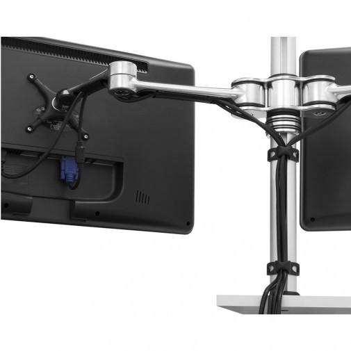 Visidec VF-AT-D Dual Monitor Articulated Arm - Stretch Desks - Height Adjustable Standing Desk