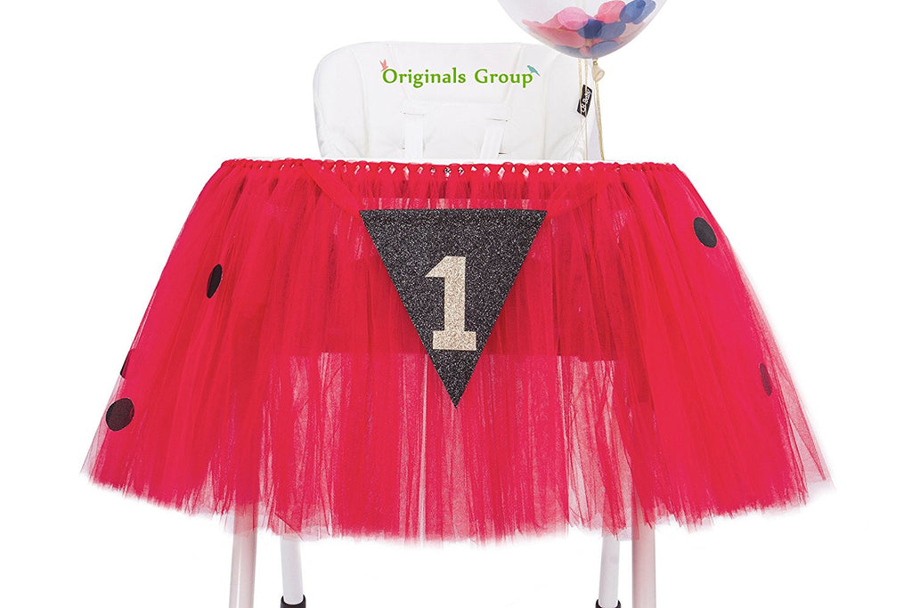 Originals Group 1st Birthday Frozen Tutu for High Chair Party Decor
