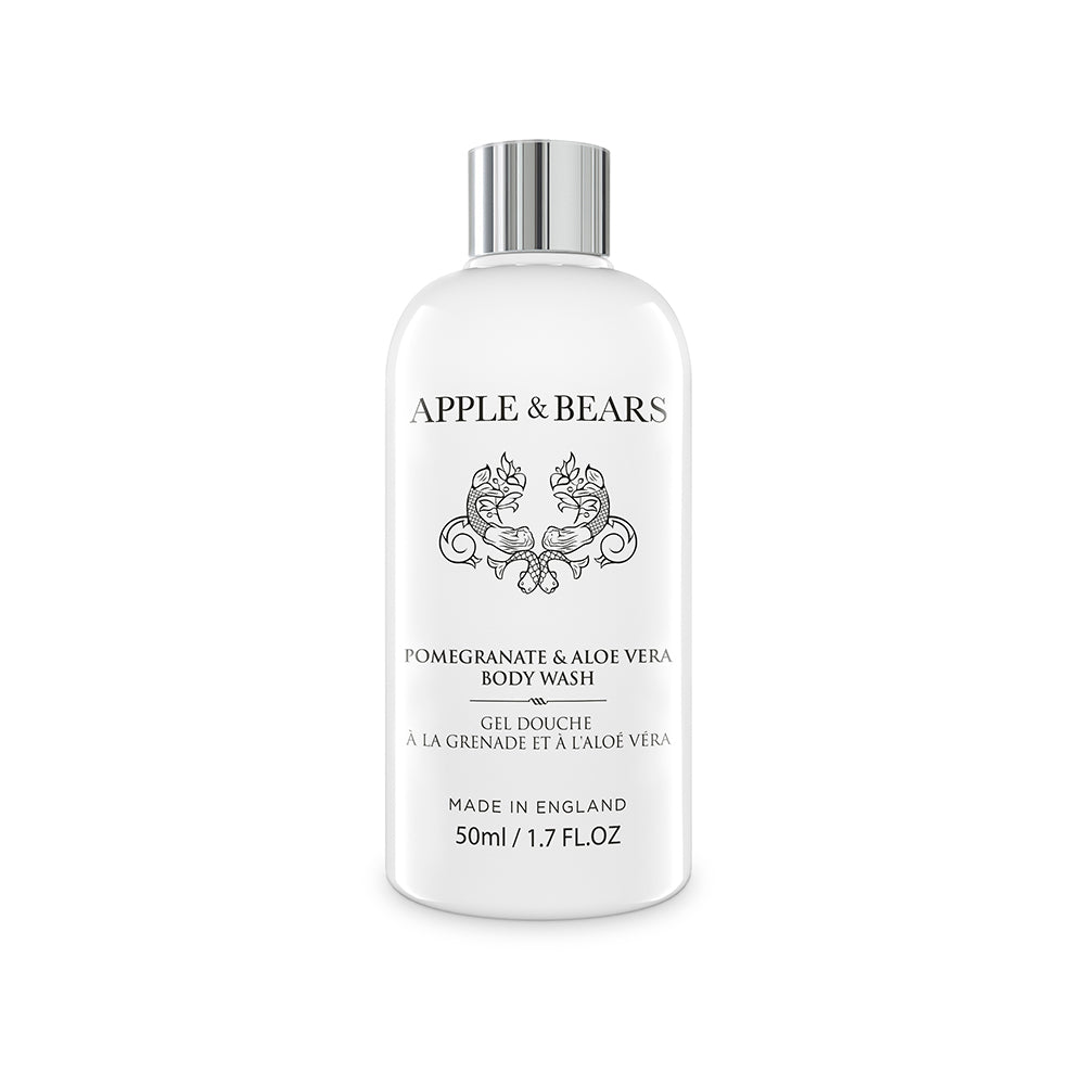 Pomegranate & Aloe Vera Hydrating Body Wash for Dry Skin