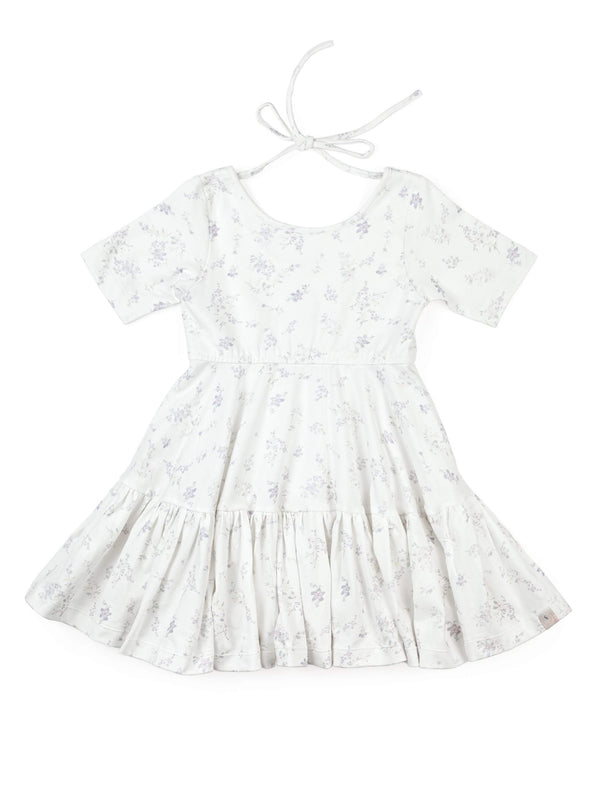 Ruffled Hem Empire Dress // Wild Floral