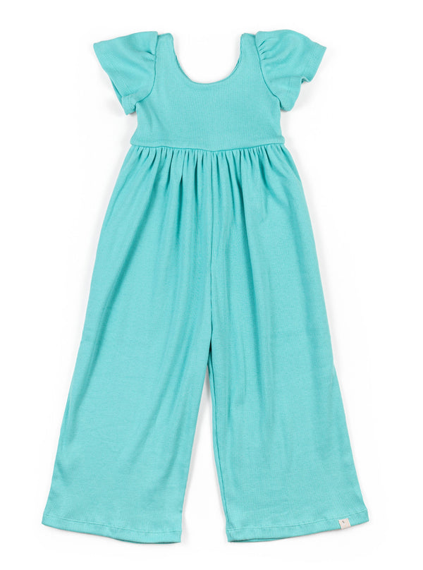 Jumpsuit / Textured Turquoise