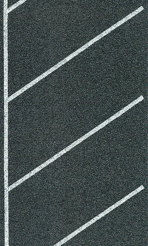 Heki 6566 HO Self Adhesive Diagonal Parking Spaces 6 x 100cm