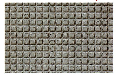 Heki 7221 HO TT Pavement Slabs 28 x 14cm x2