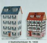 Heki 10030 2 Town House Card Kits