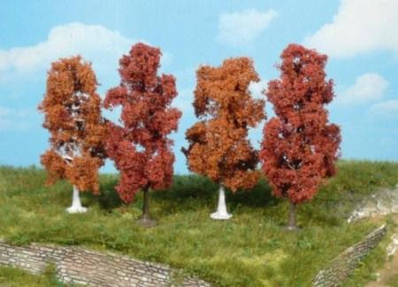 Heki 1703 4 Autumnal Trees 10cm (ARTLINE)