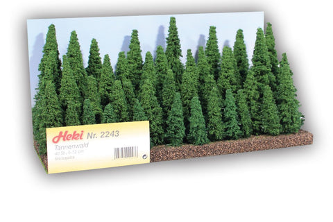 Heki 2243 Pine Forest Firs 5-12cm 40pc