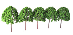Mid Green Deciduous Trees (5x160mm)