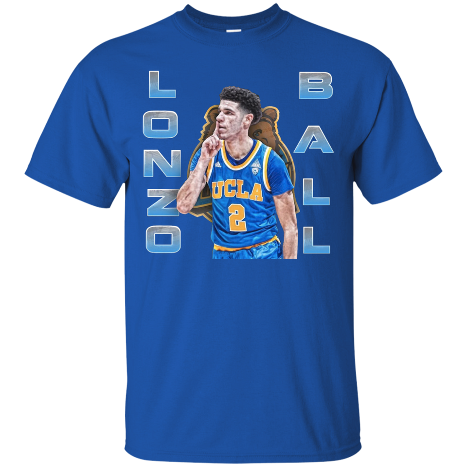 official photos 33eee 5c662 Lonzo Ball Lakers T-shirt