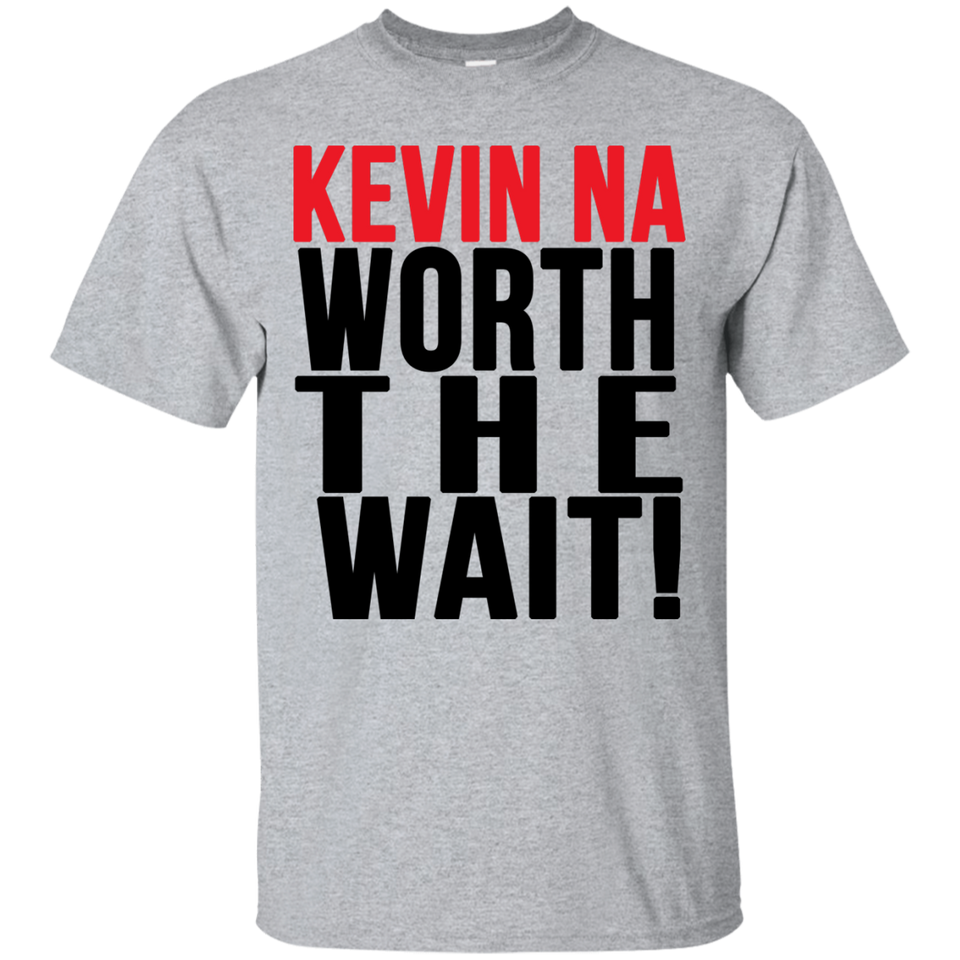 aa56f2b67ae Kevin Na Worth The Wait T-shirt – TeeYeti