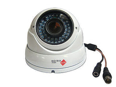 HD-SDI 1080p 3MP White Dome Cctv Camera Fixed 3.6mm Lens WeatherProof IP66 - Techvision Security Group