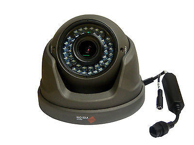 Full HD 3MP 1080P IP Dome Cctv Camera 30m Night Vision Varifocal 2.8-12mm Grey - Techvision Security Group