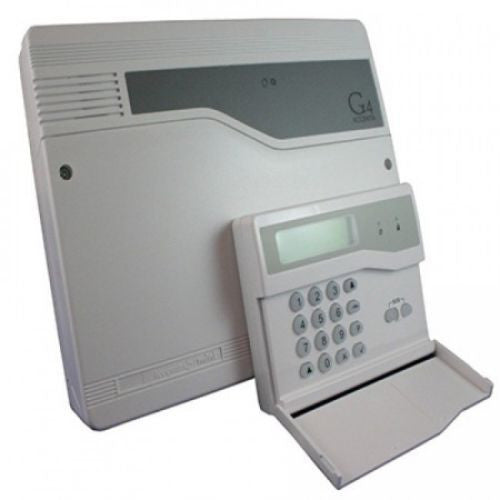 Alarm Control Panel Honeywell Accenta Mini Den4 Intruder Panel With LCD Keypad - Techvision Security Group