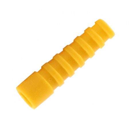 10 x Strain Relief Yellow Cable Boots for RG59 RG58 Connector protection CCTV - Techvision Security Group