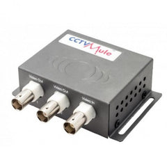 CCTV Mule002 Video Signals Down One RG59 cable 200 meter 12v DC - Techvision
