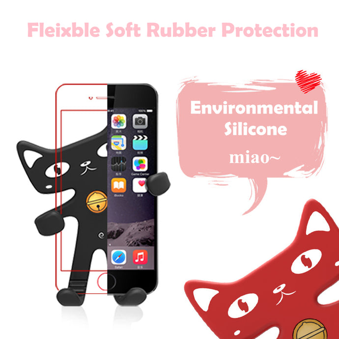 Sale 50%Off! Super flexible lucky cat phone holder