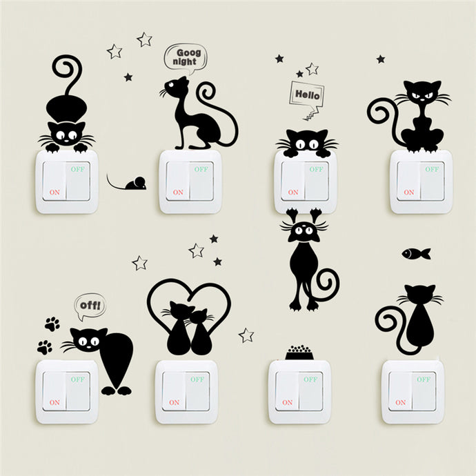 Sale! Lovely Cats Wall Decals
