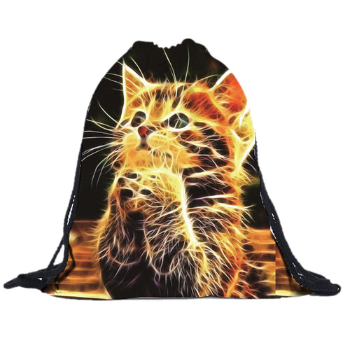 New Fashion Cute Cat 3D Printing