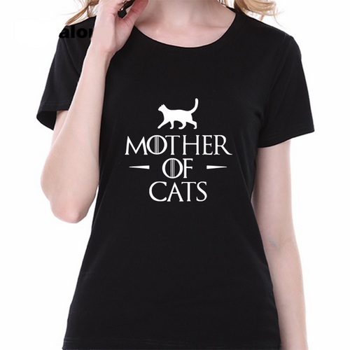 New! MOTHER OF CATS Women's T-Shirts
