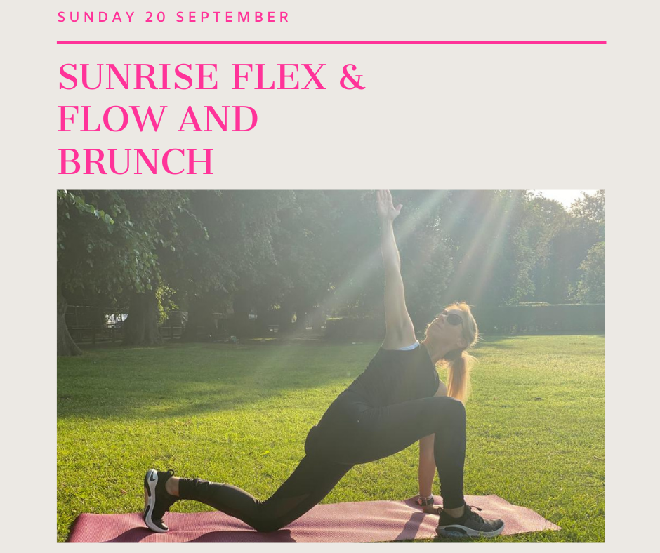 Sunrise Flex and Flow and Brunch at Seb's