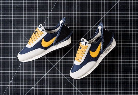 UNDERCOVER X NIKE DAYBREAK 'Navy And Gold'
