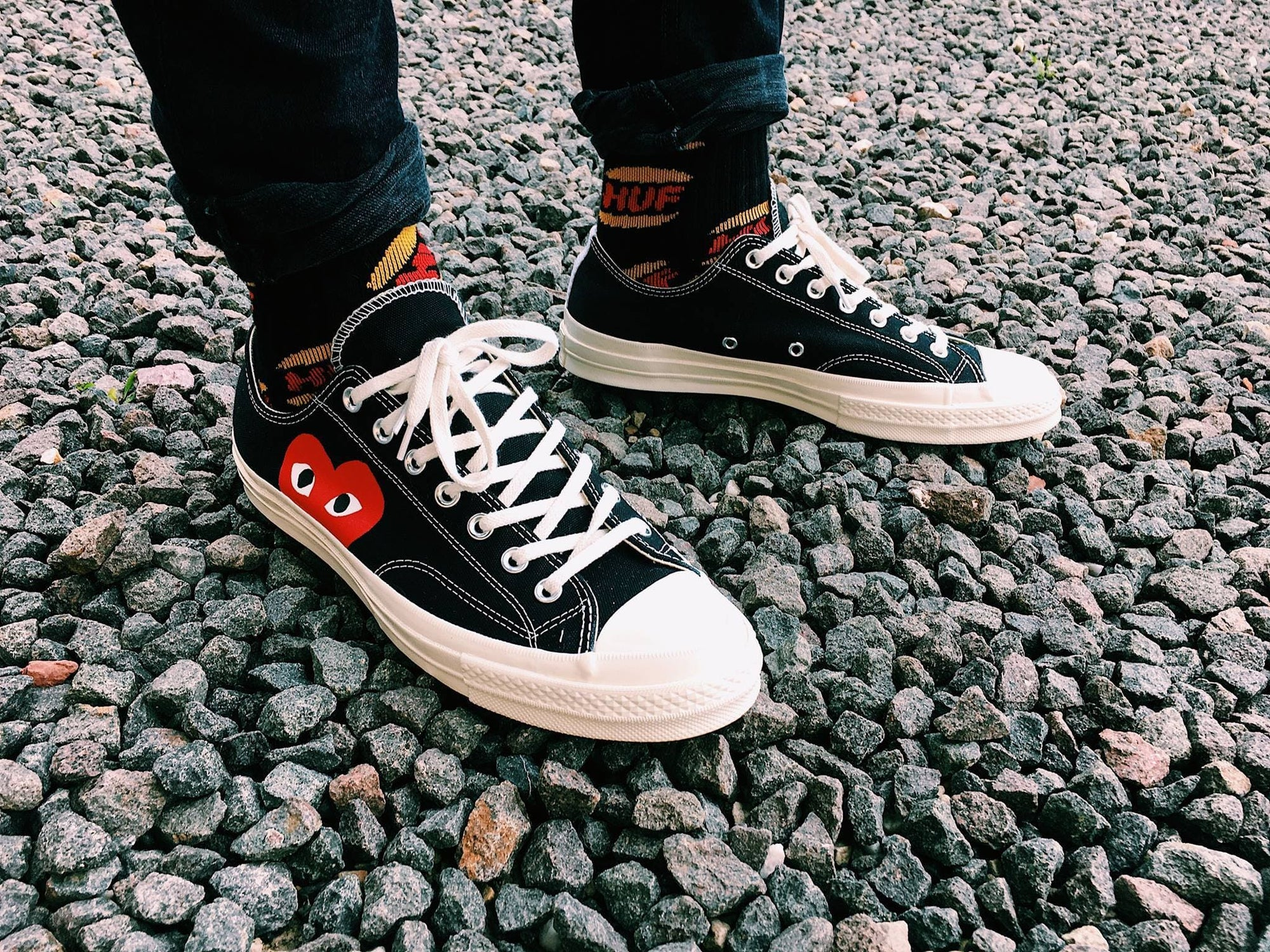 Converse 70s Low on feet