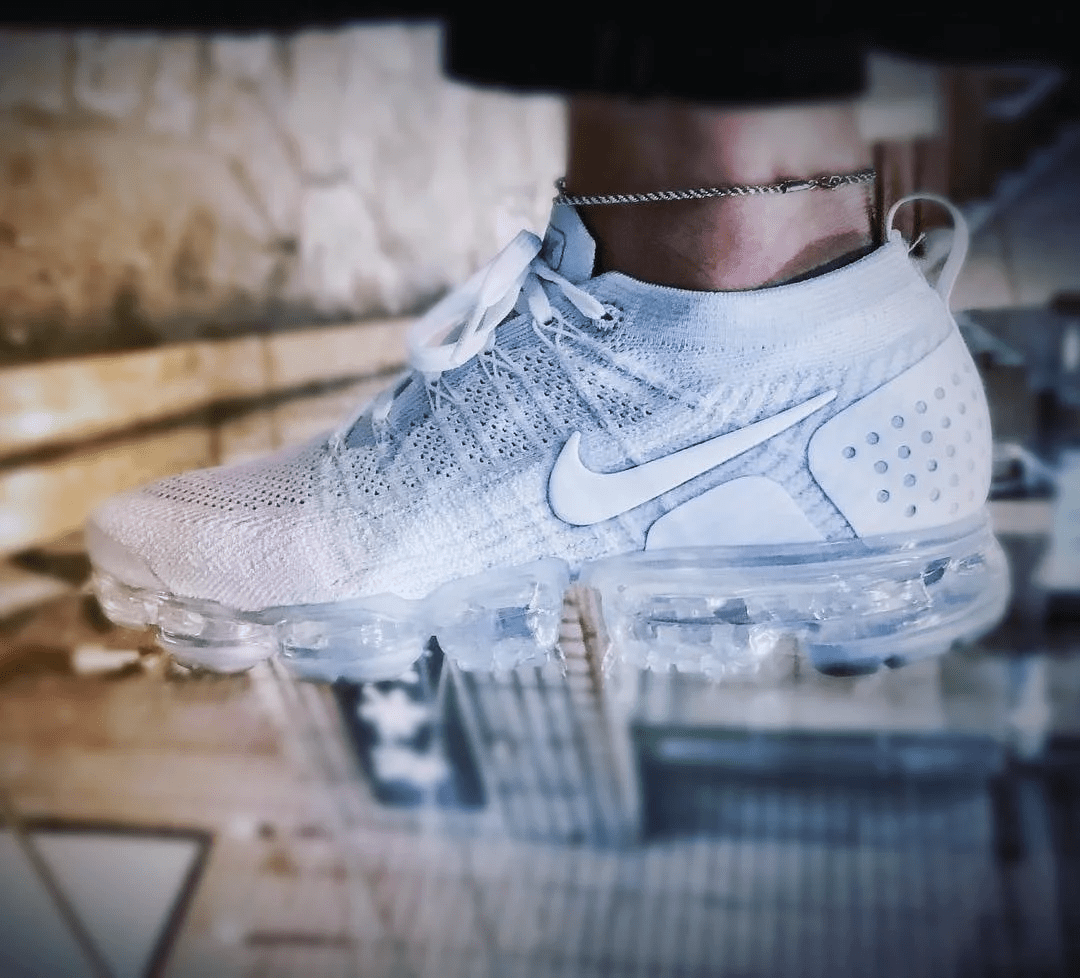 "NIKE AIR VAPORMAX FLYKNIT 2 ""TRIPLE WHITE"""