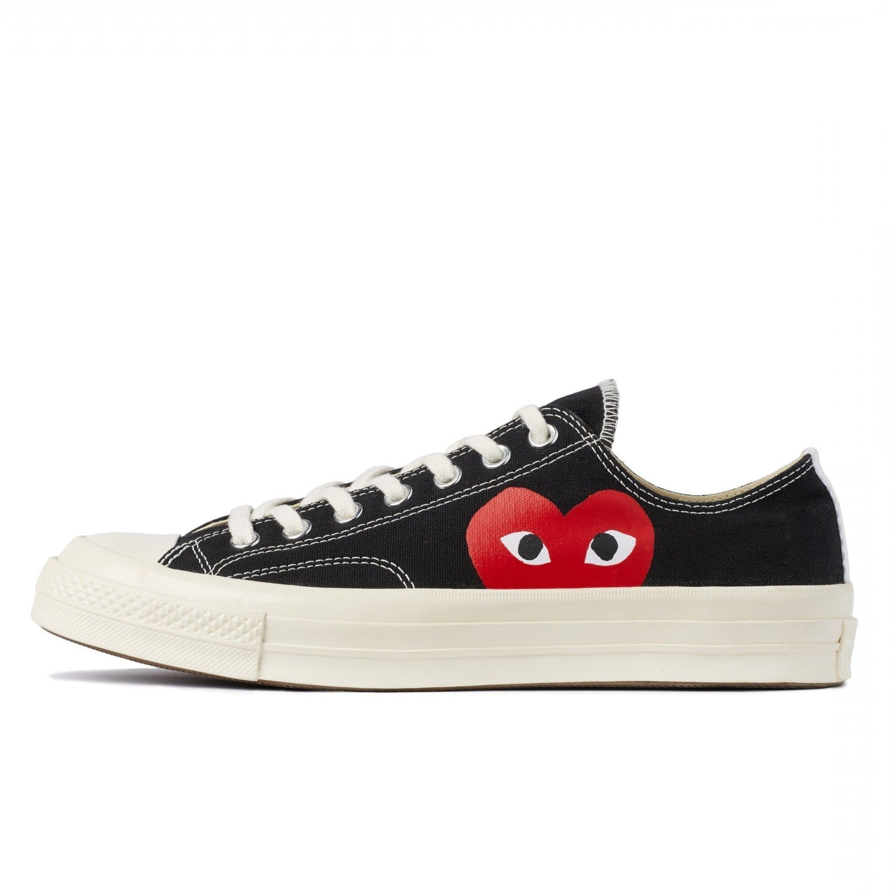 CDG PLAY x Converse Chuck Taylor 1970s Low''BLACK''
