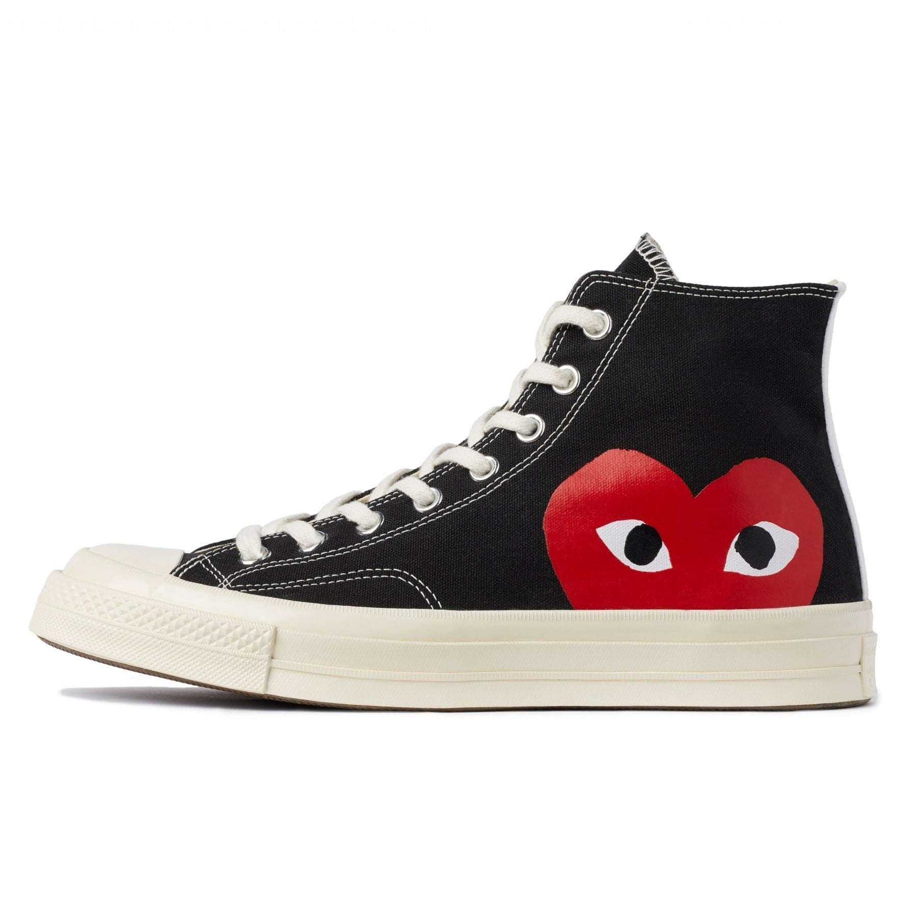 CDG PLAY x Converse Chuck Taylor 1970s High ''BLACK''