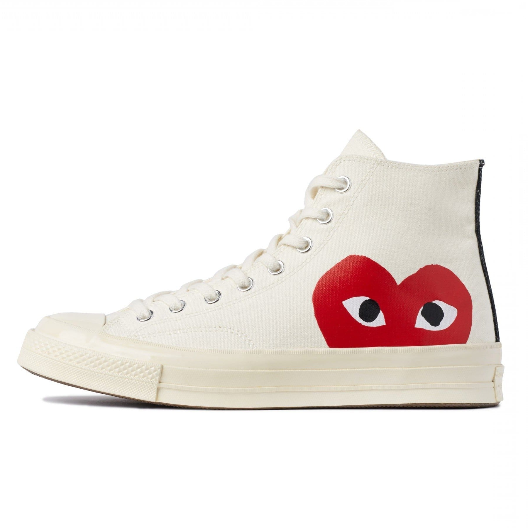 CDG PLAY x Converse Chuck Taylor 1970s High''WHITE''