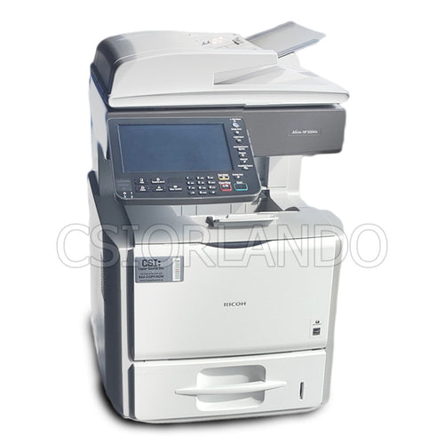 Ricoh Aficio SP 5200S MFC All-In-One Multifunc B&W Laser Print Copy Fax Front