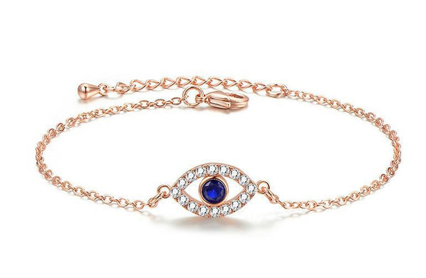 Stylish Blue Evil Eye Bracelet RG
