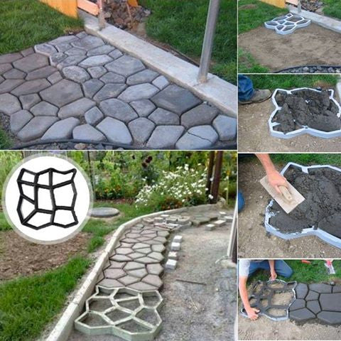 Easy DIY Pavement Molds