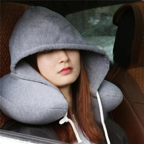 UNIQUE HOODIE TRAVEL PILLOW