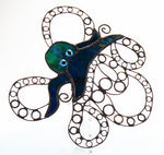 "Kraken Sea Monster Steampunk Octopus Night Light with Auto Sensor. 5.5"" x 2"""