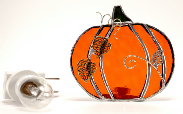 Pumpkin Night Light with Auto Sensor.