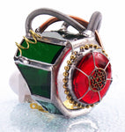 "Steampunk Borg Eye Piece Night Light with Auto Sensor. 3"" x 3.5"""