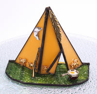"TeePee Tent Night Light with Auto Sensor. 5"" x 4"""